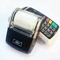 58MM portable liquid crystal display Bluetooth printer label printer 5