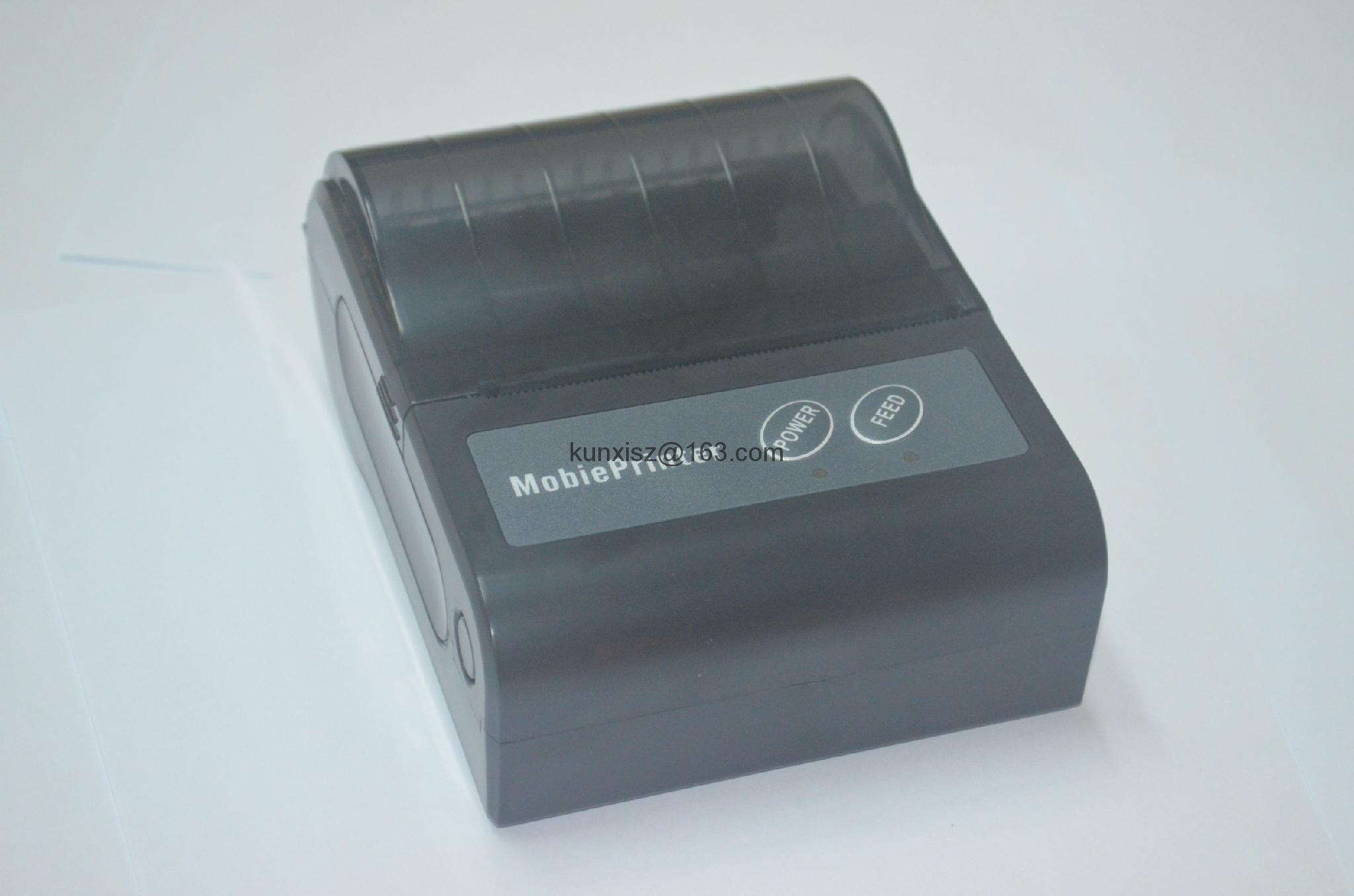 3-inch portable Bluetooth thermal printer,3-inch receipt printer 3