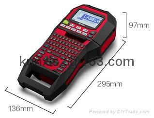 愛普生LW-Z900工業級 便攜標籤打印機 電信 線纜標籤標籤機 3