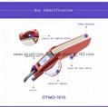 达美Dymo 1610手动标签机凹凸3D带模机打码机标价刻字机 1