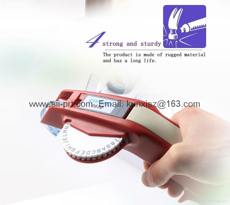 达美Dymo 1610手动标签机凹凸3D带模机打码机标价刻字机 3