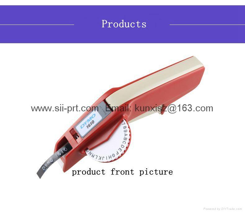 達美Dymo 1610手動標籤機凹凸3D帶模機打碼機標價刻字機 8