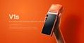 5.5-inch screen take-away printer Scan  WIFI Bluetooth Portable  V1S