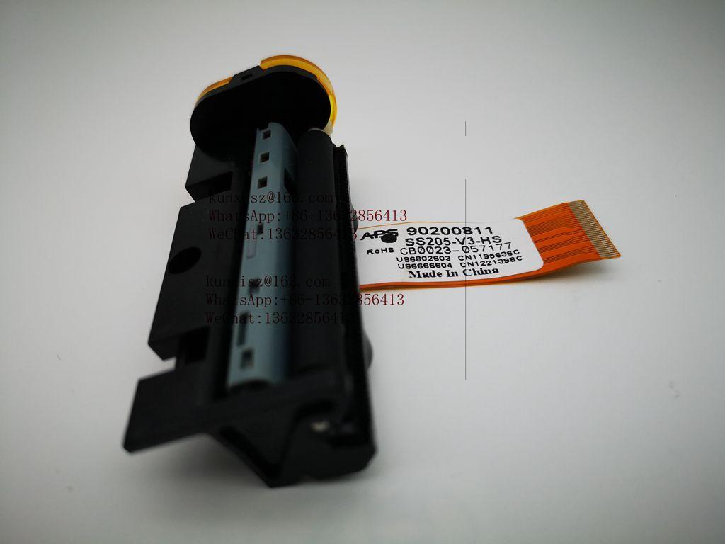 热敏打印头 手持式打印头 SS205-V3-HS APS 热敏打印机打印头 1