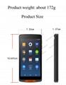 移動手持式條形碼掃描儀WiFi藍牙便攜式餐廳訂購PDA 2