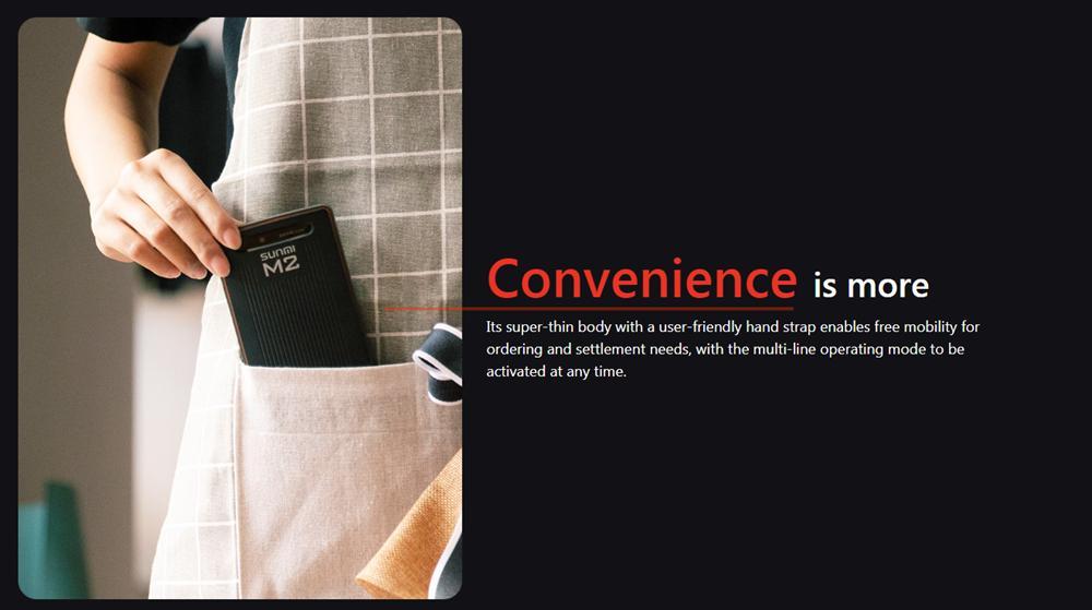 移動手持式條形碼掃描儀WiFi藍牙便攜式餐廳訂購PDA 12
