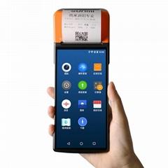 手持式POS热敏打印机无线Wifi安卓PDA分配SUNMI V2 pro