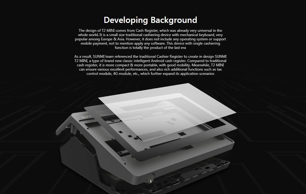 SUNMI T2mini收銀機打印一體式觸摸屏訂購機打印機 13