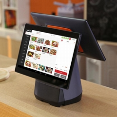 cash register machine takeaway machine receiving orders touch screen printer