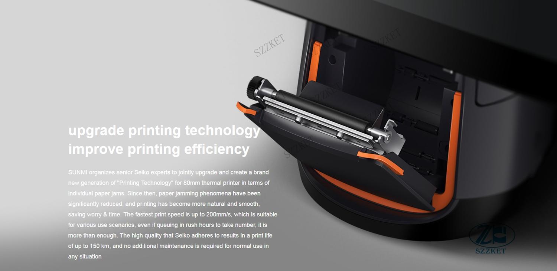 收銀機餐飲外賣機接單智能觸摸屏打印機SUNMI T2 11