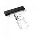 A4便攜熱轉印打印機藍牙連接內置電池家用隨時隨地打印 2