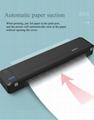 A4便攜熱轉印打印機藍牙連接內置電池家用隨時隨地打印 6