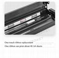 A4便攜熱轉印打印機藍牙連接內置電池家用隨時隨地打印 9