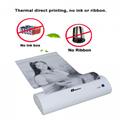 迷你便攜打印機A4熱敏打印機藍
