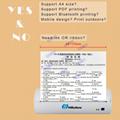 迷你便攜打印機A4熱敏打印機藍牙內置電池隨時打印 8