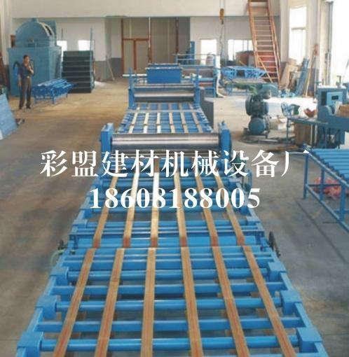 彩盟牌防火板生产设备 2