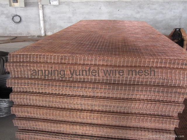 Brass Welded Wire Mesh Panel 2