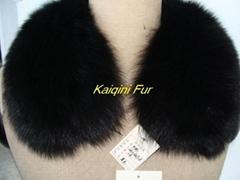 狐狸皮草毛條帽條毛領