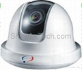 Indoor Dome CCD Camera, security camera