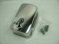 不鏽鋼皂液器 手動皂液盒 挂牆式皂液機 304不鏽鋼洗手液盒 5