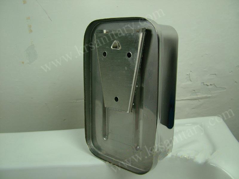 不鏽鋼皂液器 手動皂液盒 挂牆式皂液機 304不鏽鋼洗手液盒 6