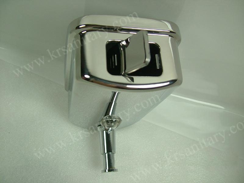 不鏽鋼皂液器 手動皂液盒 挂牆式皂液機 304不鏽鋼洗手液盒 7