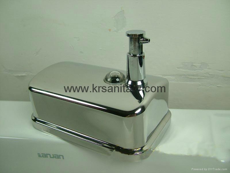 不鏽鋼皂液器 手動皂液盒 挂牆式皂液機 304不鏽鋼洗手液盒 8