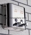 不鏽鋼皂液器 手動皂液盒 挂牆式皂液機 304不鏽鋼洗手液盒 9