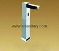 square post sensor faucet column auto tap  3