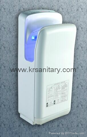High Speed Energy Efficient dual jet air Hand Dryer double side sensor hand drye 4