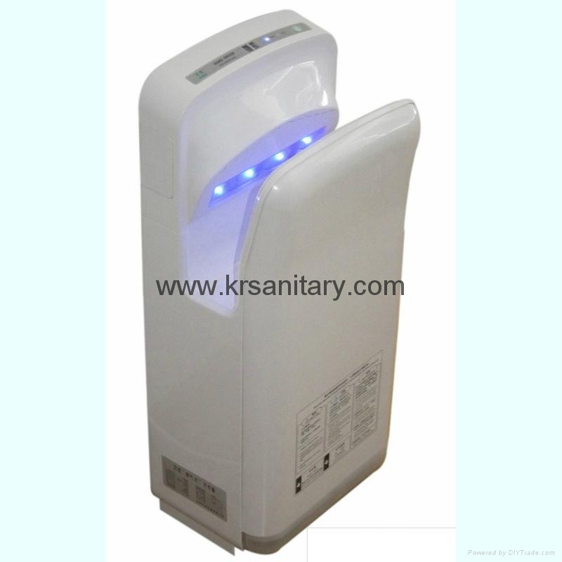 High Speed Energy Efficient dual jet air Hand Dryer double side sensor hand drye 2