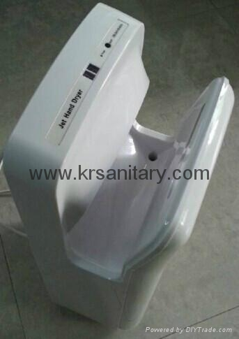 High Speed Energy Efficient dual jet air Hand Dryer double side sensor hand drye 8