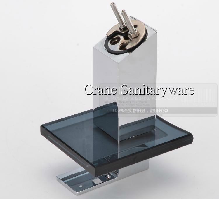 Glass Basin Waterfall Faucet/art faucet/brass faucet/waterfall tap/waterfall fau 6