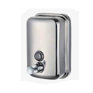 不鏽鋼皂液器 手動皂液盒 挂牆式皂液機 304不鏽鋼洗手液盒 2