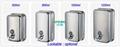 Manual 304 Stainless Steel Soap Dispenser hand press lotion holder