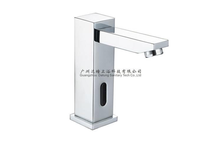 square post sensor faucet column auto tap  4