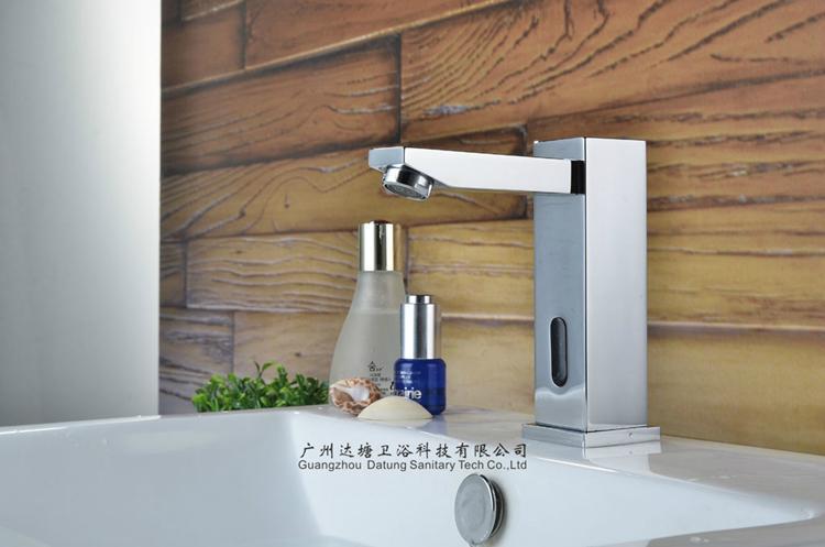 square post sensor faucet column auto tap  2