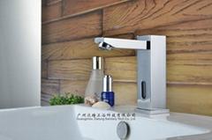 square post sensor faucet column auto tap