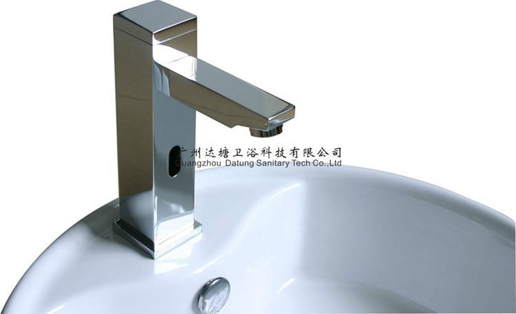 square post sensor faucet column auto tap  10