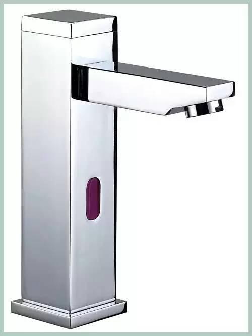 square post sensor faucet column auto tap  12