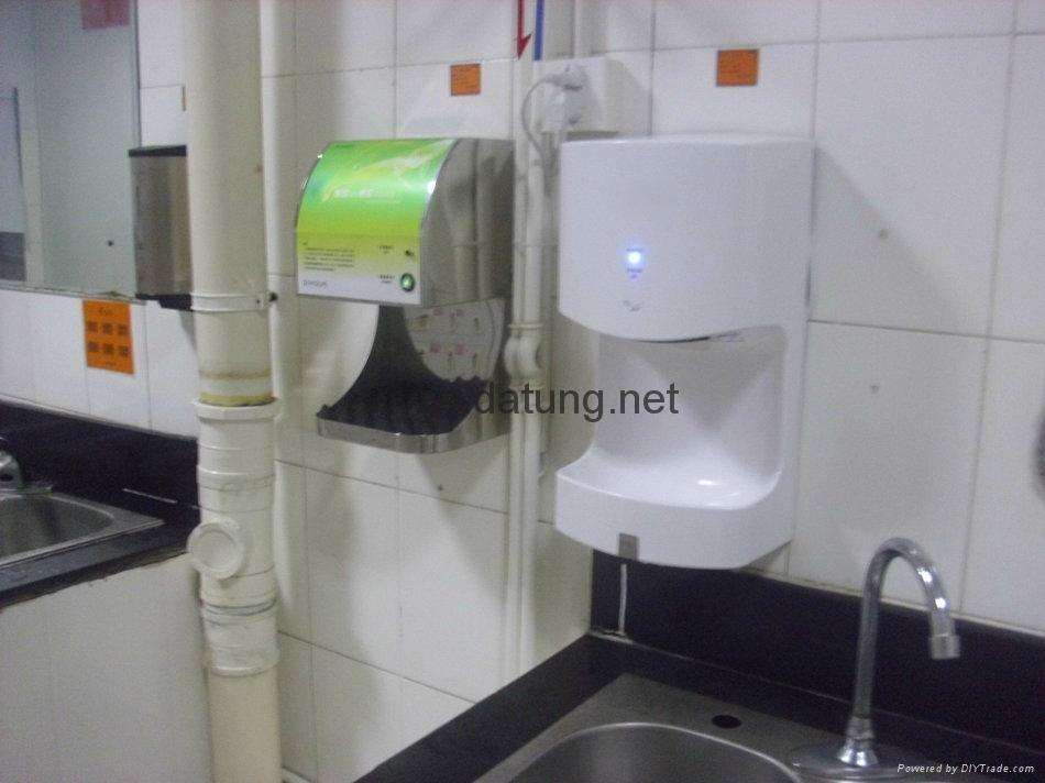 松下同款肯德基麥當勞專用 冷暖高速噴氣式干手機 干手器 9