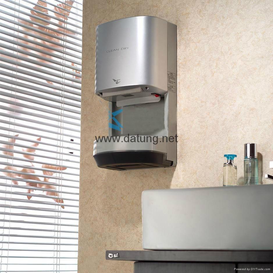 挂牆式高速干手器 WC公廁干手機 公共感應潔具 麥當勞廁所干手器 10