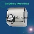 304不鏽鋼感應干手器 自動干手機 公廁感應潔具烘乾機 2
