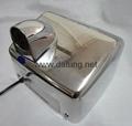 304不鏽鋼感應干手器 自動干手機 公廁感應潔具烘乾機 5