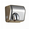 304不鏽鋼感應干手器 自動干手機 公廁感應潔具烘乾機 8