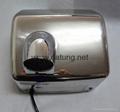 304不鏽鋼感應干手器 自動干手機 公廁感應潔具烘乾機 15
