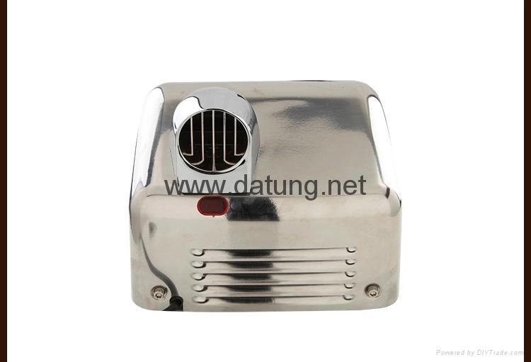304不鏽鋼感應干手器 自動干手機 公廁感應潔具烘乾機 11