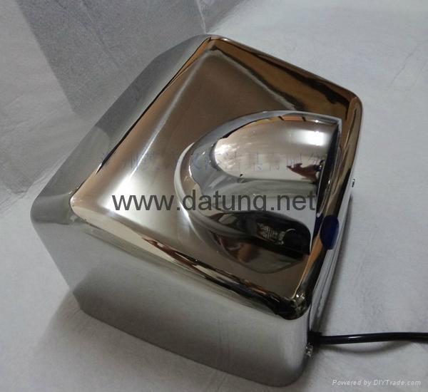 304不鏽鋼感應干手器 自動干手機 公廁感應潔具烘乾機 16