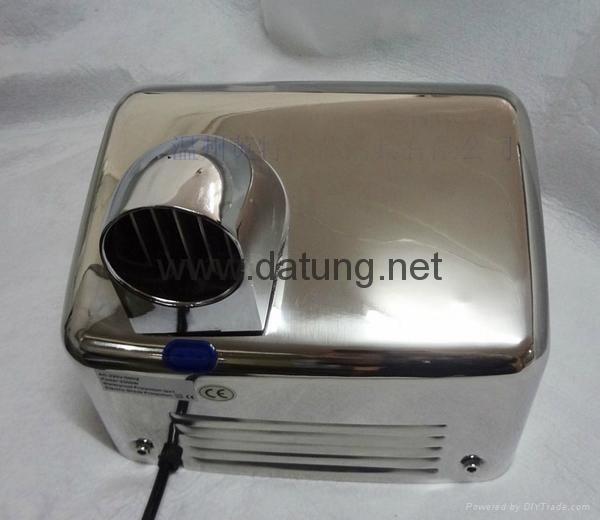 304不鏽鋼感應干手器 自動干手機 公廁感應潔具烘乾機 14