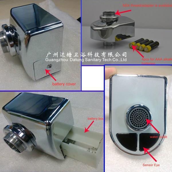 新型节水器自动水嘴龙头适配器厨房设备 手动龙头变自动龙头 12